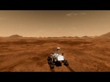 Полное видео посадки Кьюриосити на Марс .